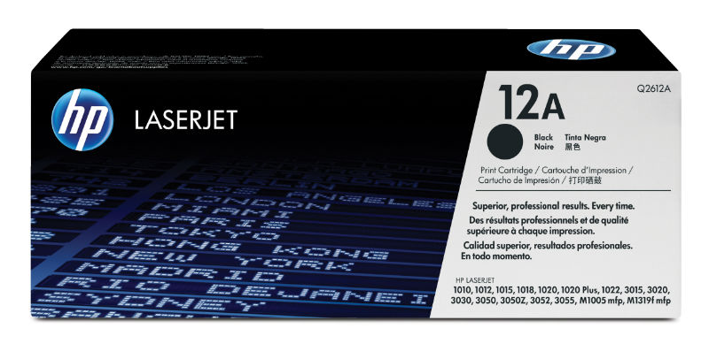 Toner black 12A 2 tonere/set HP Q2612AD