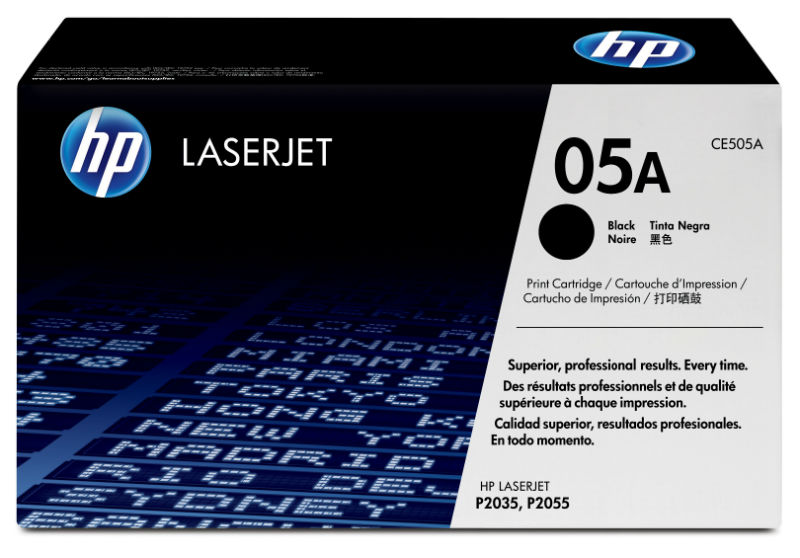 Toner black 05A HP CE505A