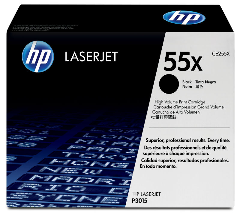 Toner black 55X HP CE255X