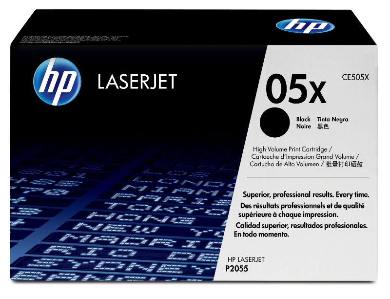 Toner black 05X HP CE505X