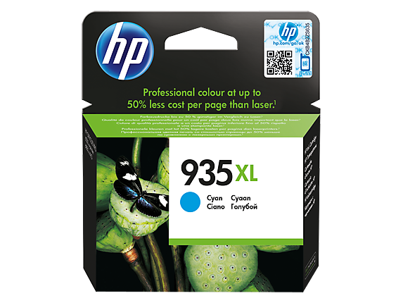 Cartus cyan nr. 935XL HP C2P24AE