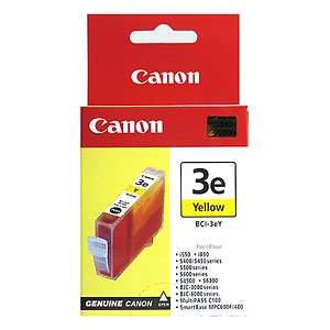 Cartus yellow CANON BCI3eY