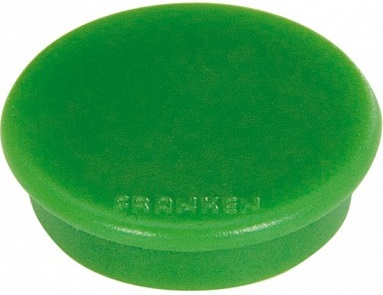magnet rotund verde 10 buc/set 32mm franken tacking