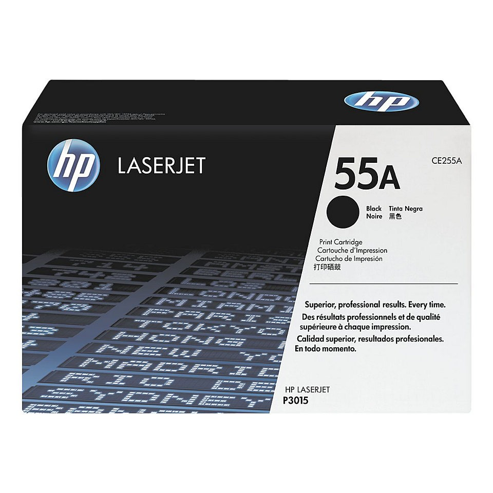 Toner black 55A HP CE255A