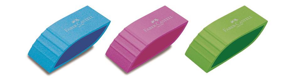 Radiera diferite culori FABER CASTELL Trend
