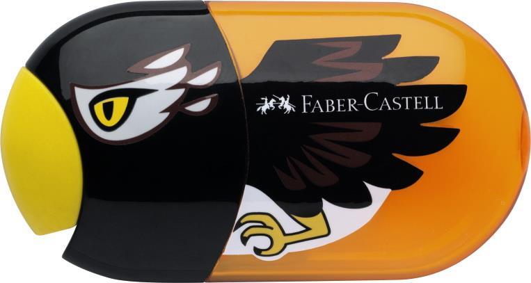 Ascutitoare cu radiera vultur FABER CASTELL