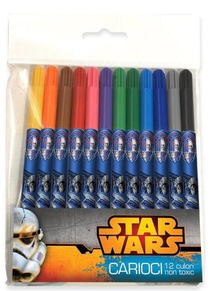 Carioci 12 culori/set STAR WARS