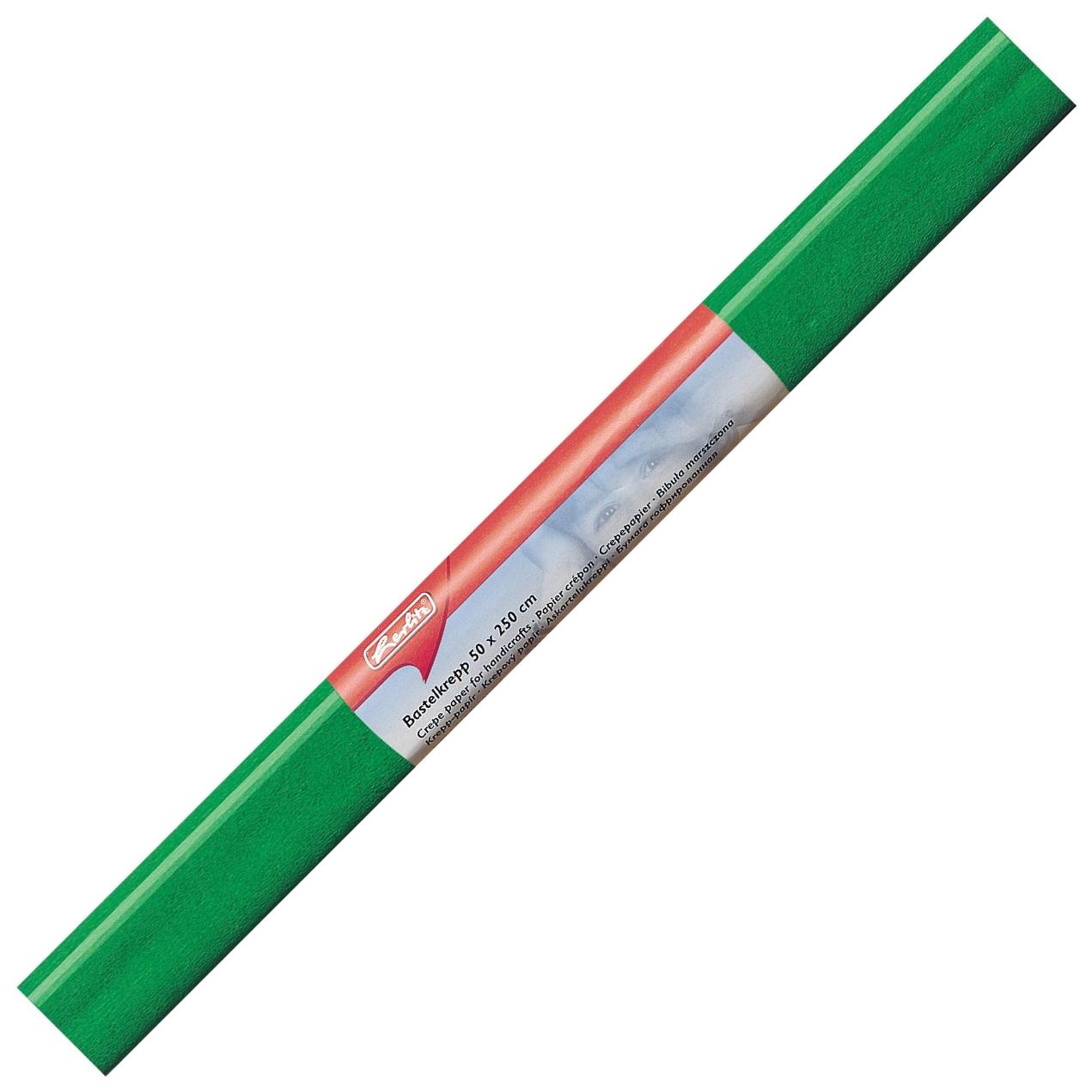 Hartie creponata verde 50 x 250cm HERLITZ