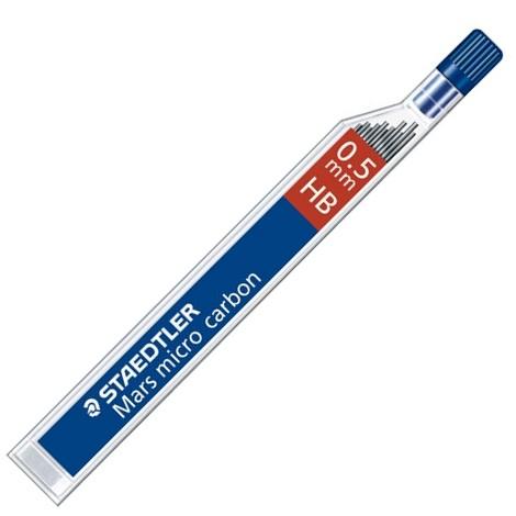 Mine Pentru Creion 0.5mm  2b  12 Buc/etui  Staedtler Mars Micro Carbon