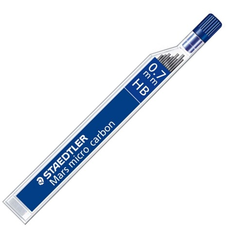 Mine Pentru Creion 0.7mm  2b  12 Buc/etui  Staedtler Mars Micro Carbon