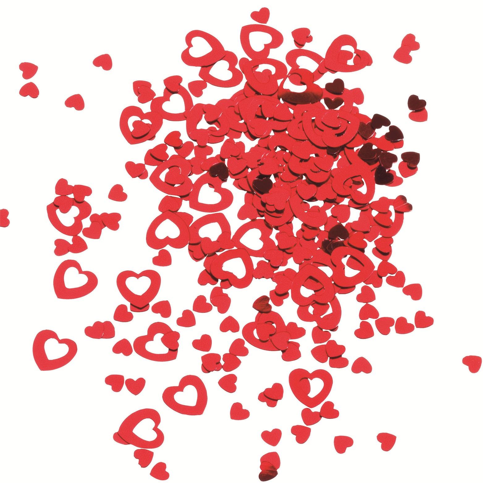 Confetti rosu 14gr/set HERLITZ Inimi