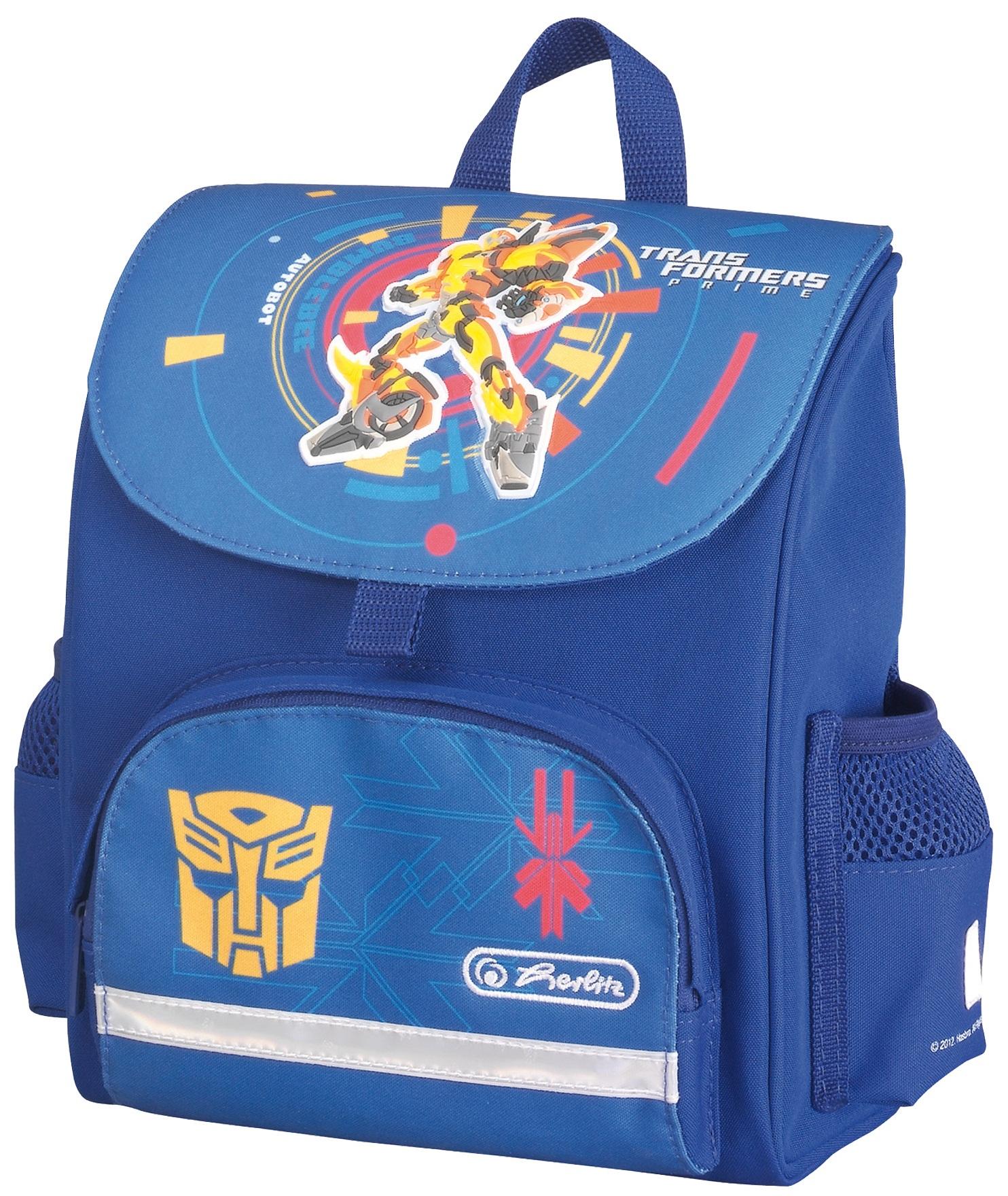 Ghiozdan ergonomic neechipat HERLITZ Transformers Bumblebee Mini Softbag