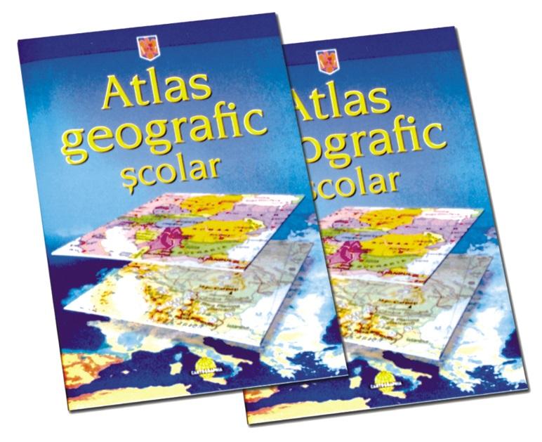 Atlas geografic scolar clasele 5-8 HERLITZ