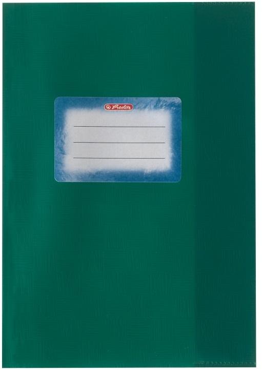 Coperta A5 PP verde 25 buc/set HERLITZ