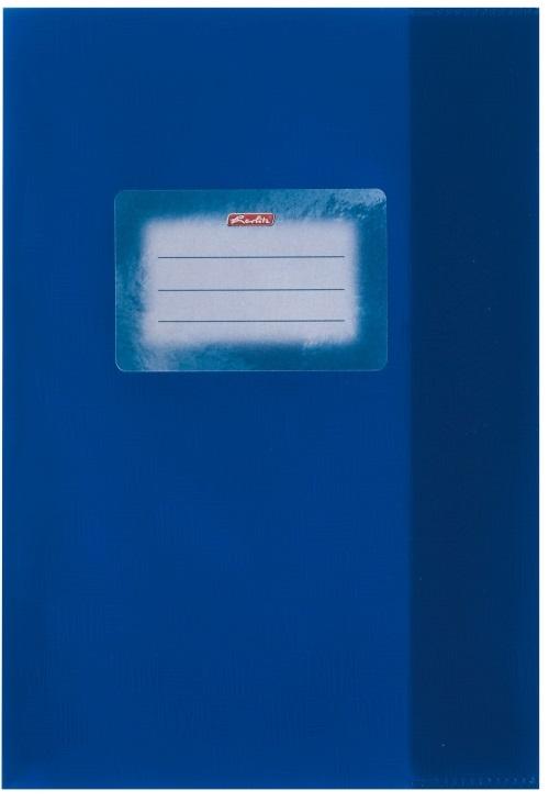 Coperta A5 PP albastru inchis 25 buc/set HERLITZ