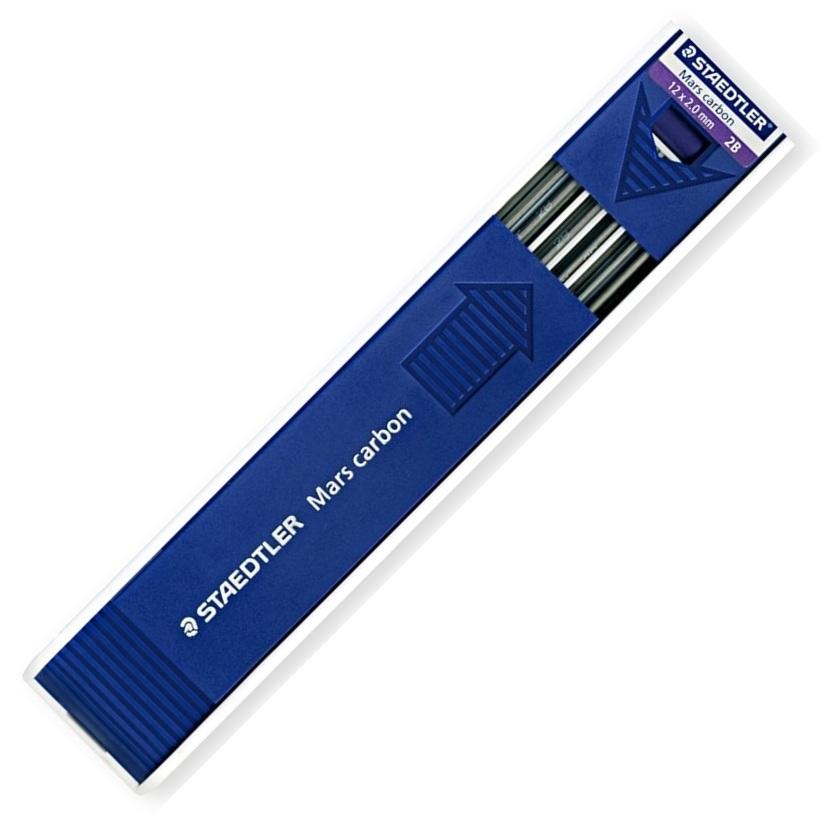 Mine Pentru Creion 2mm  Hb  12 Buc/etui  Staedtler Mars Carbon