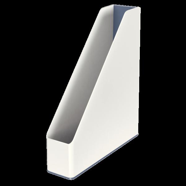 Suport Vertical  Culori Duale  Alb Metalizat  Leitz Wow