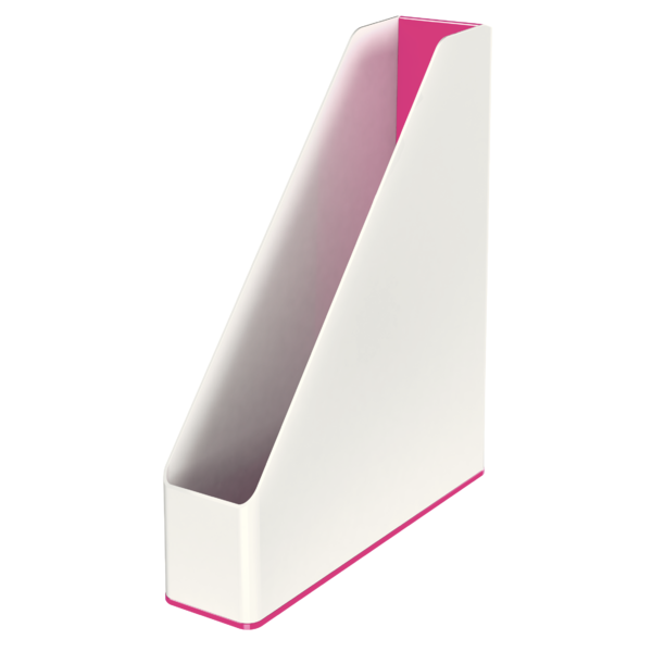 Suport Vertical  Culori Duale  Roz Metalizat  Leitz Wow