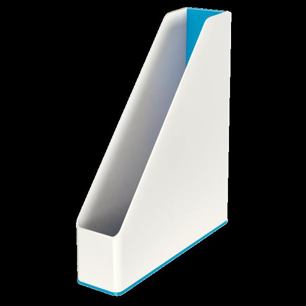 Suport Vertical  Culori Duale  Albastru Metalizat  Leitz Wow