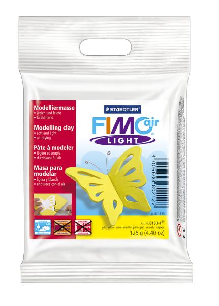 Plastilina pt. modelaj 125gr galben (yellow) STAEDTLER Fimo Air Light