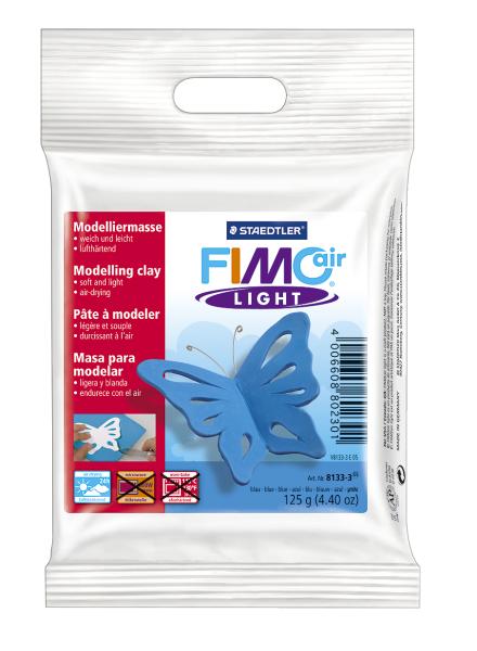 Plastilina pt. modelaj 125gr albastru (blue) STAEDTLER Fimo Air Light