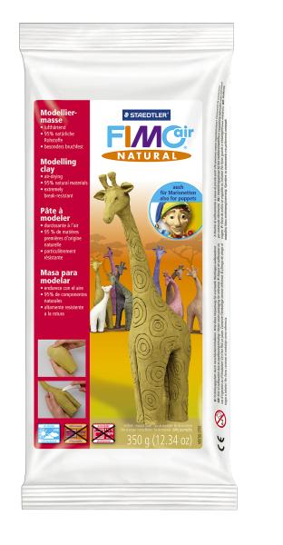 Plastilina pt. modelaj 350gr mustar (mustard flower) STAEDTLER Fimo Air Natural