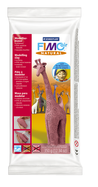 Plastilina pt. modelaj 350gr rosu pamant (red earth) STAEDTLER Fimo Air Natural