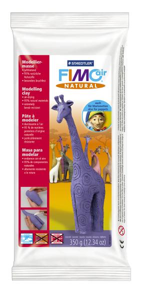 Plastilina pt. modelaj 350gr lila (lavender) STAEDTLER Fimo Air Natural