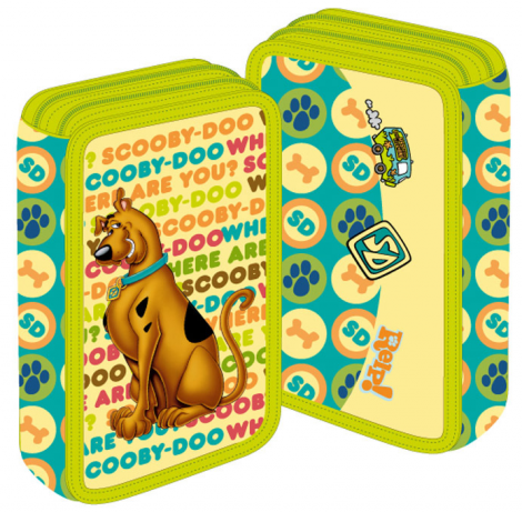 Penar neechipat 3 fermoare PIGNA Scooby Doo