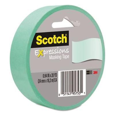 Banda adeziva decorativa verde deschis SCOTCH