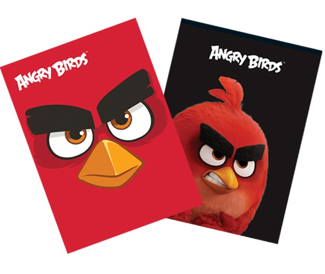 Coperta A4 color ANGRY BIRDS