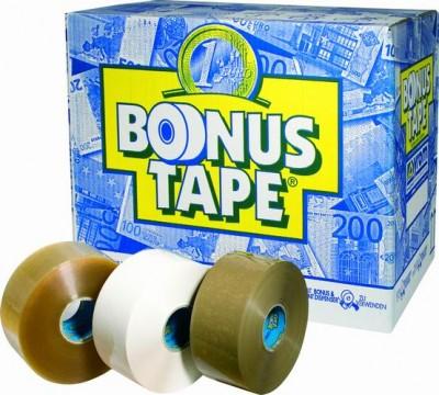 Banda Adeziva  50mm X 200m  Alb  Syrom Bonus Tape