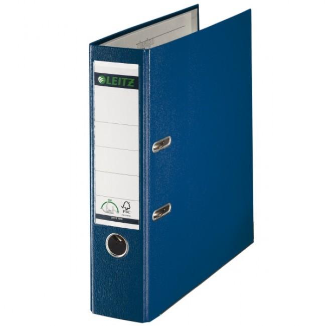 Biblioraft Plastifiat  8.0cm  Albastru  Leitz 180°