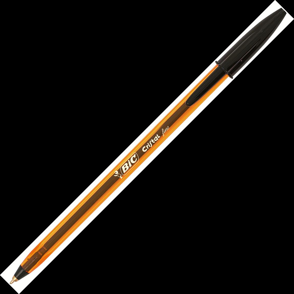 Pix fara mecanism 0.8mm negru BIC Cristal fine
