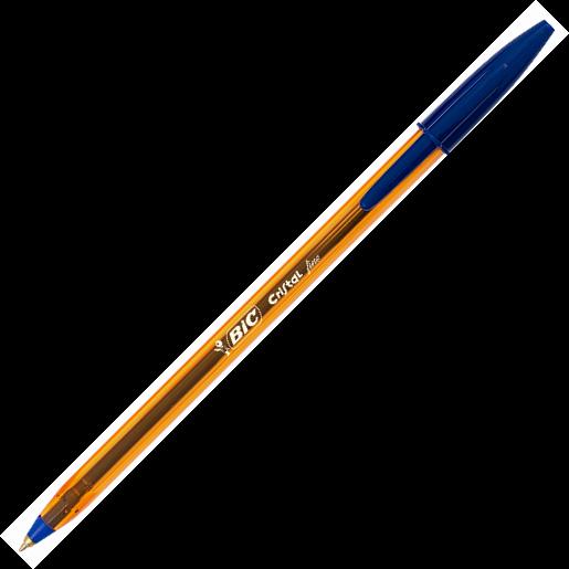 Pix fara mecanism 0.8mm albastru BIC Cristal fine