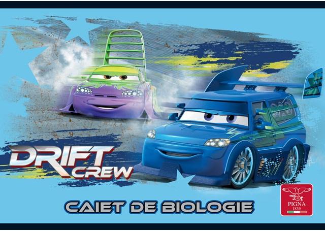 Caiet pentru biologie 17 x 24cm 24 file CARS