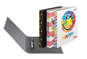 Caiet mecanic A4 2 inele 25mm diverse modele HERLITZ Smiley World