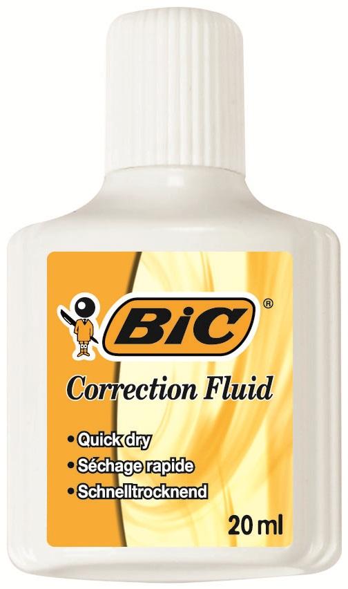 Fluid corector pe baza de solvent 20ml BIC