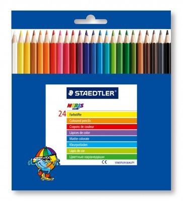 Creioane colorate 1/1 24 culori/set STAEDTLER Noris Club