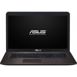 Laptop ASUS X756UB Intel Core i5-6200U 17.3'' HD+ 4GB 2TB + 16GB SSD GeForce 940M 2GB FreeDos Dark Brown