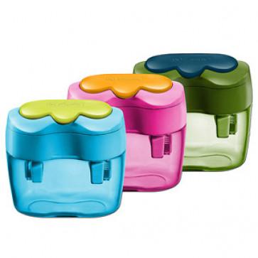 Ascutitoare din plastic, dubla, diverse culori, HERLITZ