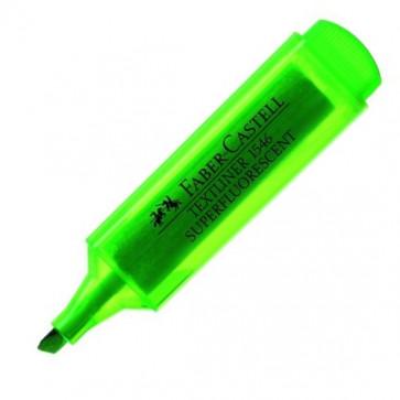 Textmarker, verde, 1-5mm, FABER CASTELL Superfluorescent 1546