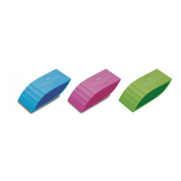 Radiera, diferite culori, FABER CASTELL Trend