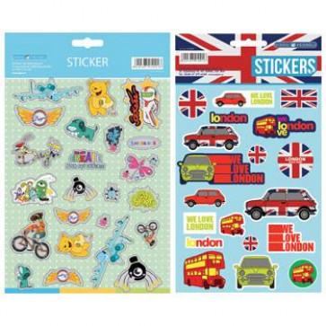 Sticker, baieti, PIGNA England XoXo