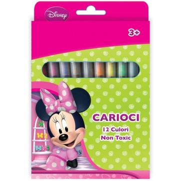 Carioci, 12 culori/set, PIGNA Minnie Mouse