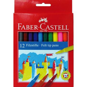Carioci, 12 culori/set, FABER CASTELL