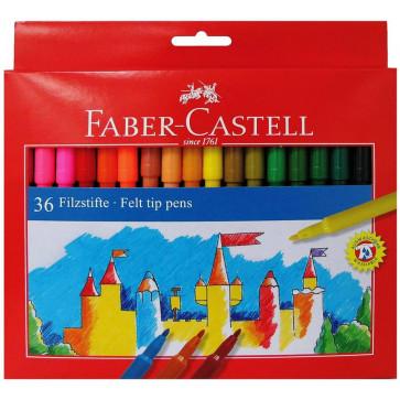 Carioci, 36 culori/set, FABER CASTELL