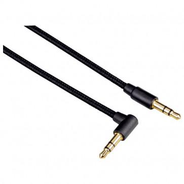 Cablu conexiune Jack-Jack 3.5mm pentru smartphone, 1m, negru, HAMA