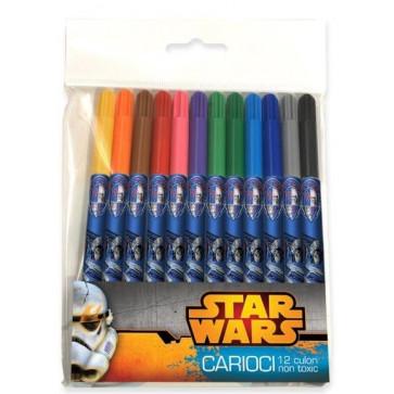 Carioci, 12 culori/set, PIGNA Star Wars