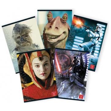 Caiet A4, 60 file, dictando, PIGNA Premium Star Wars